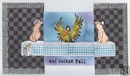 Herren im Bad geöffnet