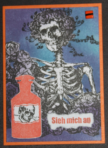 Halloween 2011 Skelett