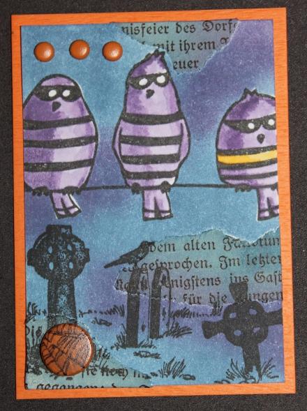 Halloween 2011 Vögel