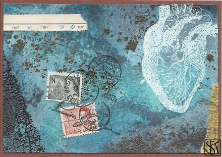 Bantock Style Briefmarken