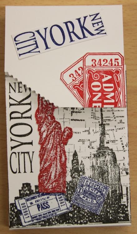 NYC Tagbuch 1
