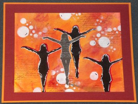 Art Journey Silhoutten Orange