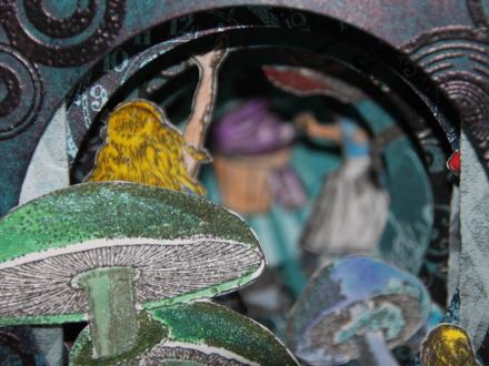 Alice Kulissenbuch Blick in die Tiefe 1