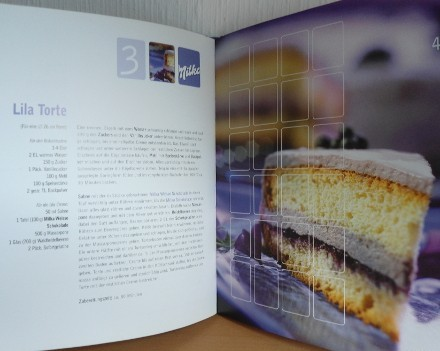Milka lila Torte