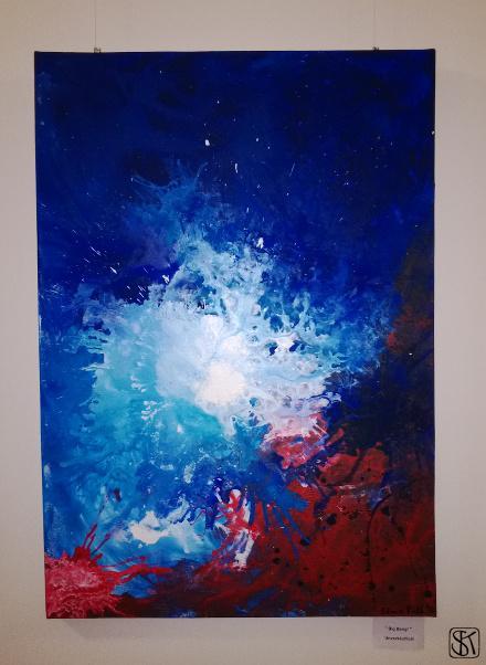 Ausstellung JM 3 - Big Bang, leider unverkäuflich - Kopie