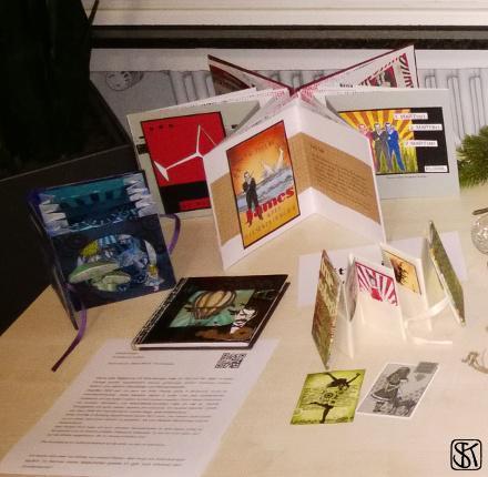 Ausstellung JM 5 - mein Eck auf dem Tisch