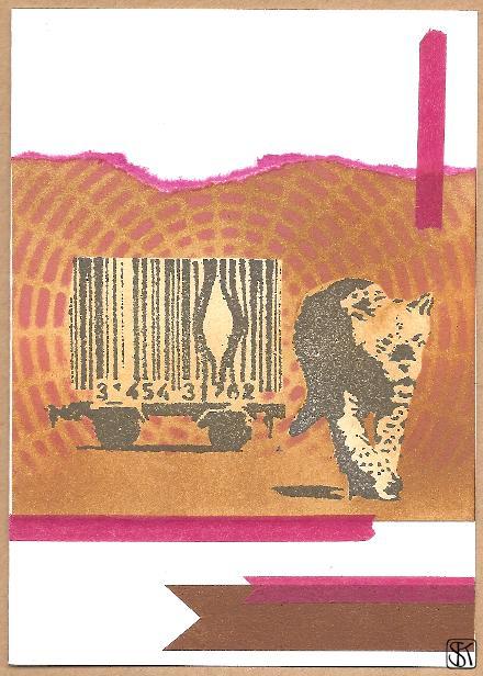 Banksy - Gepard