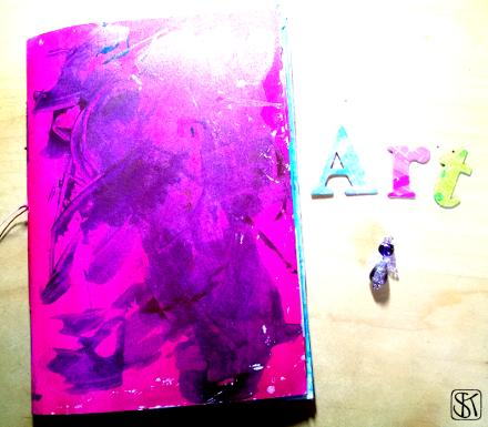 Art Journal Rohbau