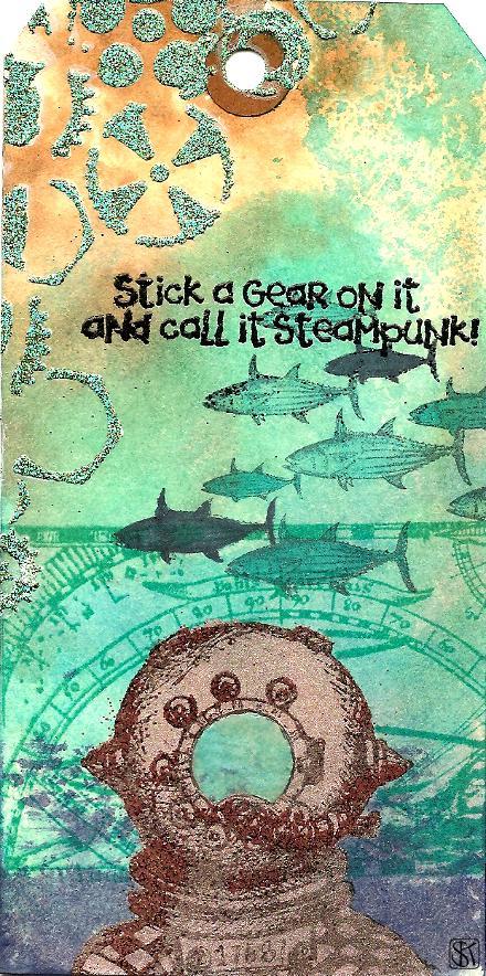 steampunk taucher