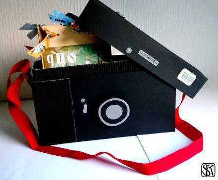 quo vadis Kamerabox mit Buch