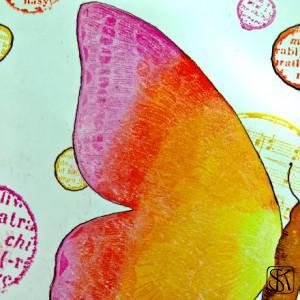 02 - feb resist butterfly detail