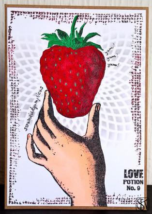 07 - july strawberries and cream