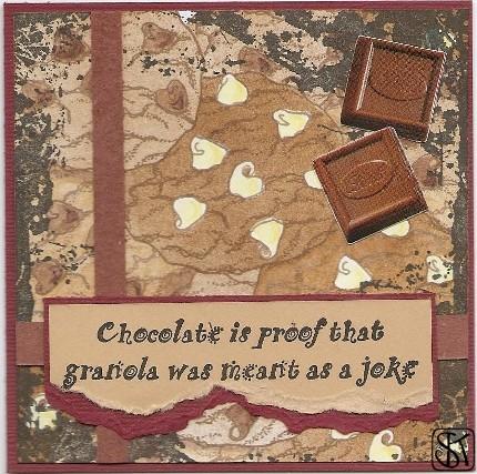 chocolate vs. granola